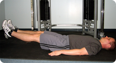 Supine Leg Lifts