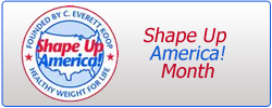 Shape Up America! Month