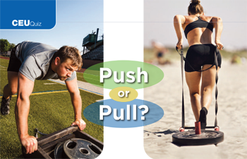 Push or Pull  Using Sleds for Sports Performance