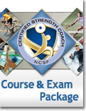 NCSF Certified Strength Coach Course & Exam Package - (CEU)