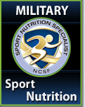 Military Sport Nutrition Specialist Course & Exam Package
