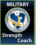 Military Certified Strength Coach Course & Exam Package